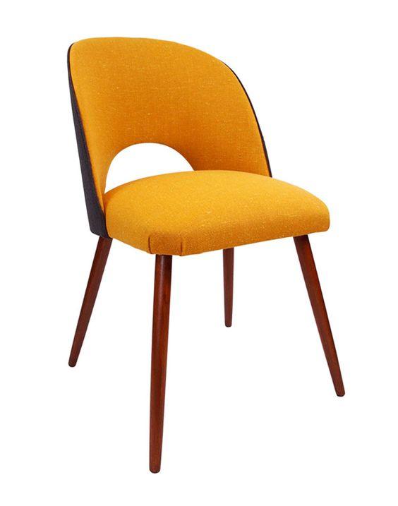The Fernandina Vintage Desk Chair in Mustard