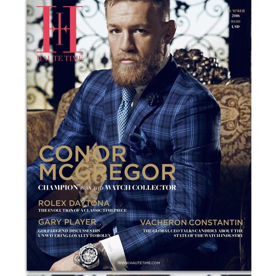 Magazine: Conor McGregor p/ Haute Time Magazine: