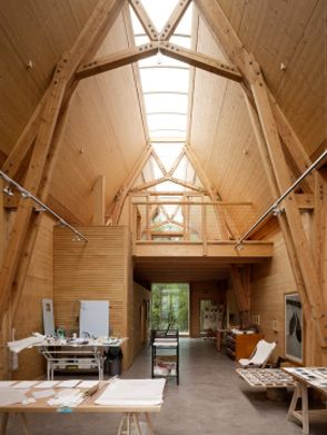 the green oak carpentry company flimwell workshops 2 each of the buildings has a mezzanine floor inserted to make the office space above the workshops agri office mezzanine floor