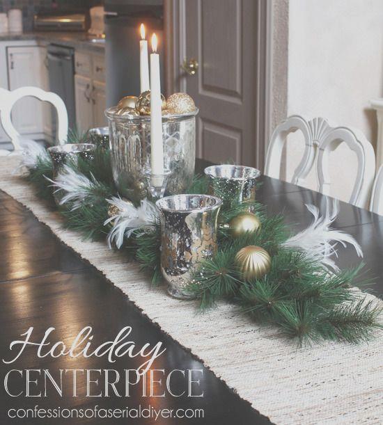 30 Precious Dining Table Centerpiece Ideas For Christmas In 2021 Holiday Centerpieces Christmas Centerpieces Holiday Dining Table