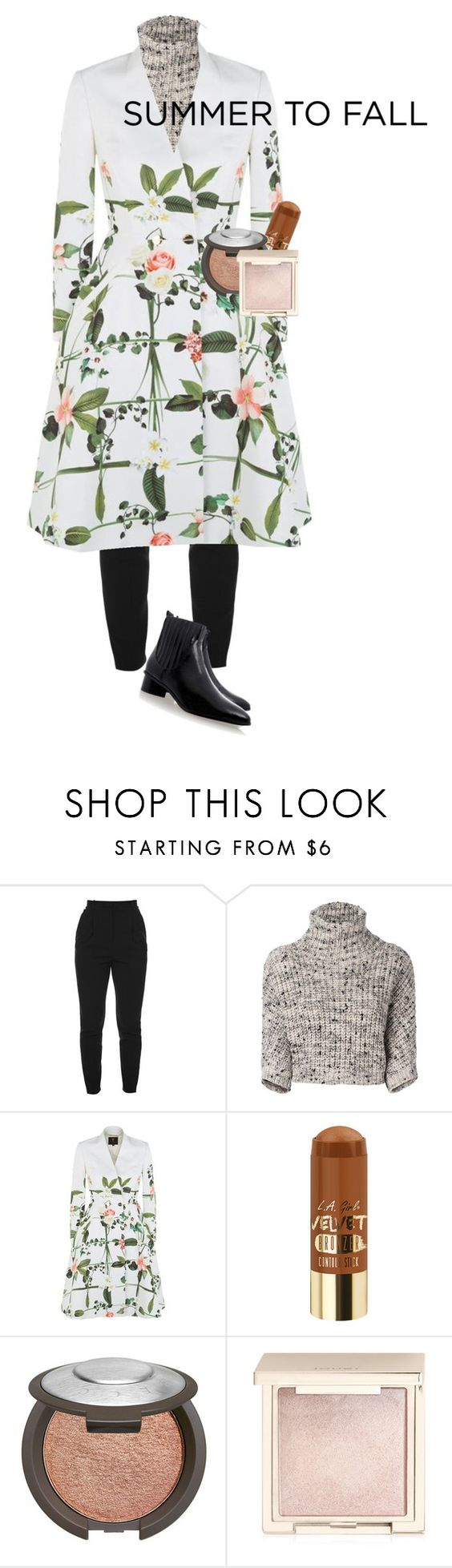 """""""Untitled #1972"""" by vanessabarbie10 ❤ liked on Polyvore featuring Alexander McQueen, Brunello Cucinelli, Ted Baker, Becca, Jouer and Senso"""