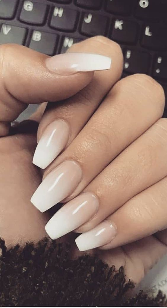 The Right Nails Make Girls More Fashionable Page 7 Of 77 Sciliy Solid Color Nails Ombre Nail Designs Ombre Nails