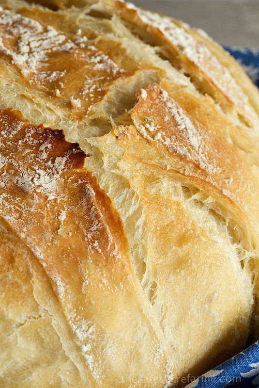 Easy Crusty French Bread