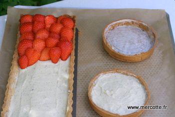Mercotte crème pâtissière