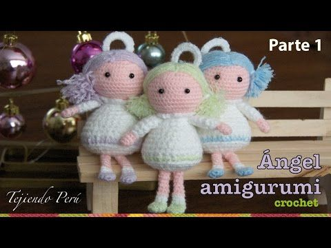 Angeli Amigurumi Tutorial : Creativo, V?deos and Patrones on Pinterest