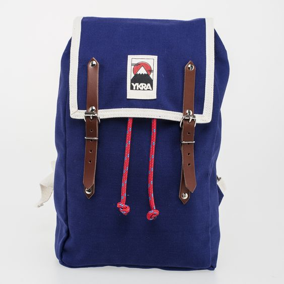 The Mini was designed for your city needs, or a short trip in the wild. Its small, practical and stylish! Dimensions: 45 x 26 x 16 cm Materials: 100 % cotton canvas, tanned cowhide leather, steel buckles, top grade mountain climbing rope, cotton felt. Quality manufactured by hand in Budapest, Hungary.