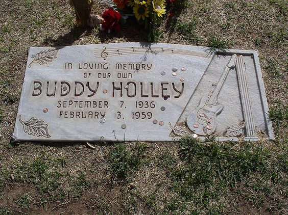Buddy Holly Gravesite (original spelling) - Lubbock Tx. Been here many times.