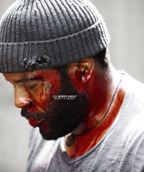 Tyreese - only redeeming character (imo) now gone. pft. twd would be super boring now lol. I mean apart from michonne the zombie slayer and baby judith and zombie appeal it's not that strong of a show... #justsaying