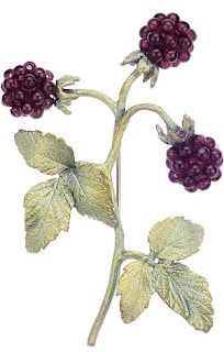 Raspberry Pin, modeled after a 1900 Faberge Design: