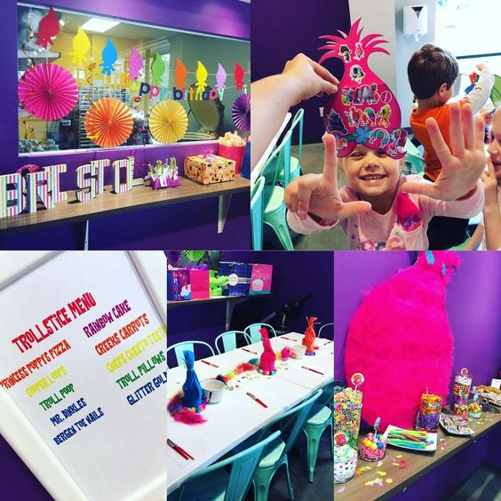Trolls Birthday Party Ideas | Photo 1 of 53: