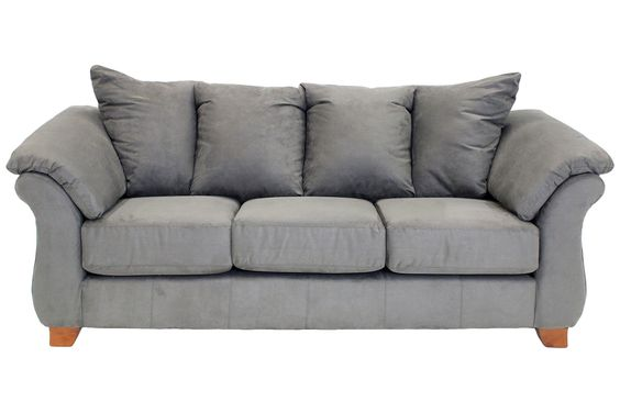 Shasta Charcoal Sofa Sofas Living Room Mor Furniture For Less Decorating Ideas