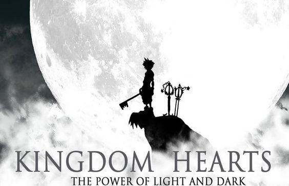 Kingdom Hearts HUGE  Poster  ( 34 inch x 22 inch ) FAST SHIPPING 113