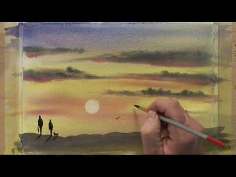 Paint Along With Matthew Palmer Four Part Two Youtube Art
