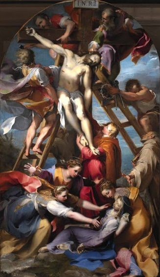 Federico Barocci: Descenso de la cruz.: