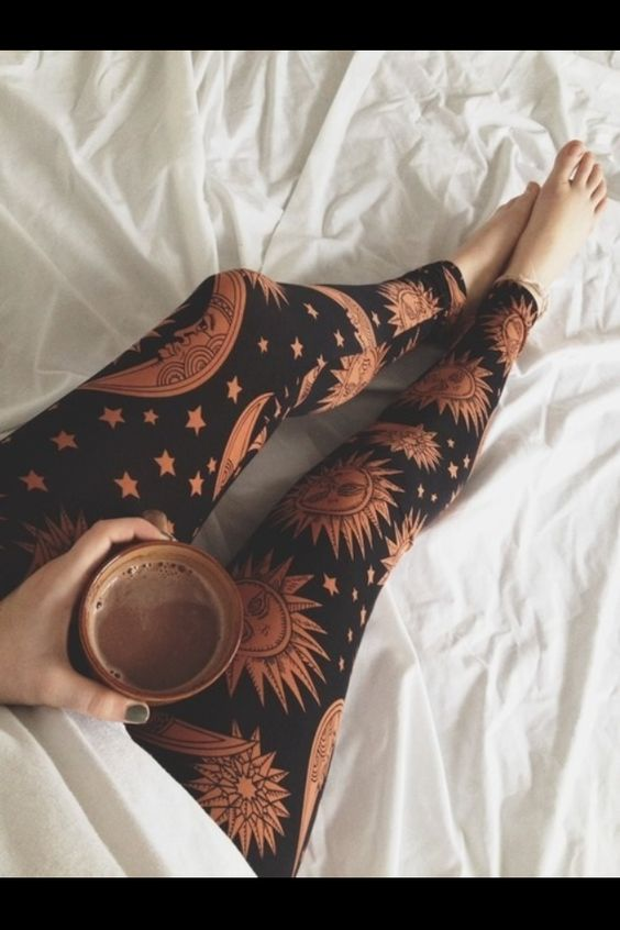 Astrological leggings
