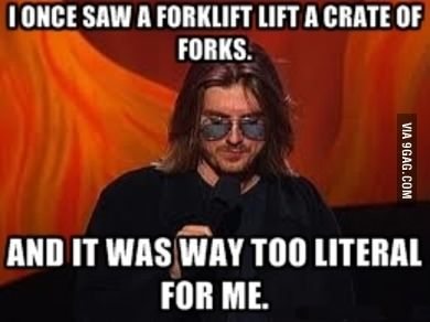 One of my favorite Mitch Hedberg Quotes