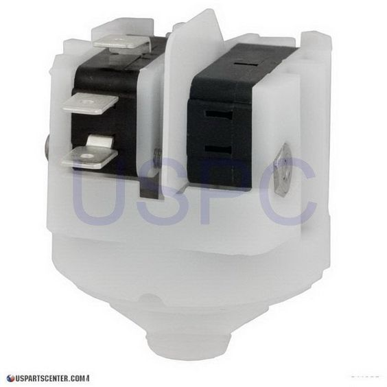 Pressure Switch, SPDT, Center Spout