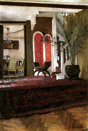 Félix Edouard Vallotton - Interior