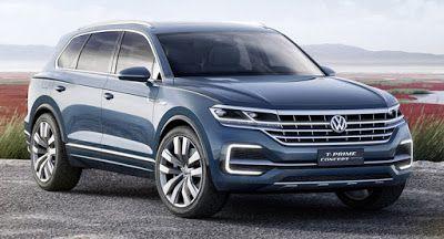 VW T-Prime-Konzept GTE Previews New Full-Size-SUV