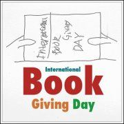 Feb 14th is International Book Giving Day