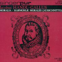 "Hör dir ""Handl, J.: Moralia - Harmoniae Morales, Book 1"" von Singer Pur auf @AppleMusic an."