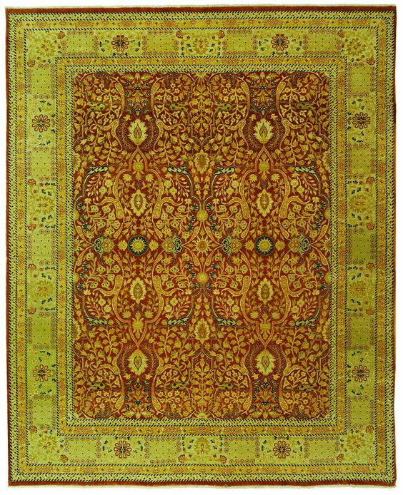 Safavieh Haj Jalili Traditional Indoorarea Rug Rust / Gold