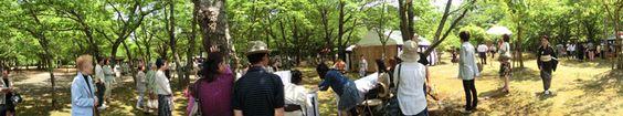 陶芸村での一年に一度のお茶会