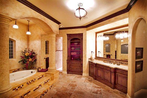 Luxury Master Bathrooms | Luxury Master Bath - Custom Cabinets