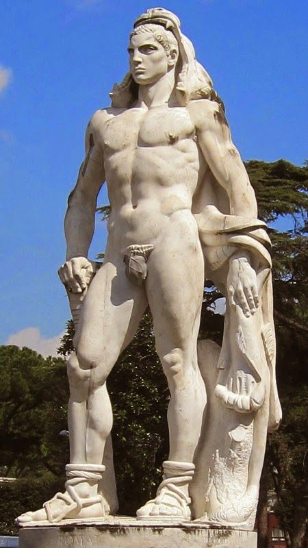 Male Nude Statues 23