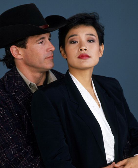Michael Ontkean as 'Sheriff Harry S. Truman' & Joan Chen ...