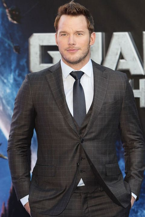 Chris Pratt in Ermenegildo Zegna to the European #Premiere Of 'Guardians Of The Galaxy' in London #celebs