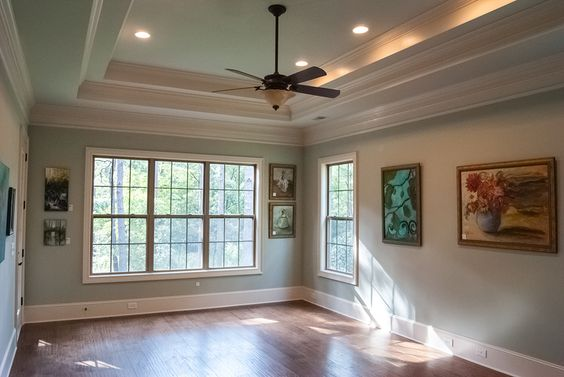Tray Ceilings Parade Of Homes And Covered Porches On