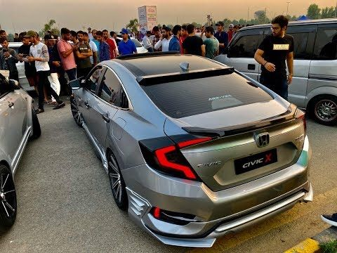 Honda Civic X Modified Honda Civic Fc5 Pakwheels Sialkot Auto Show Honda Civic Honda Civic