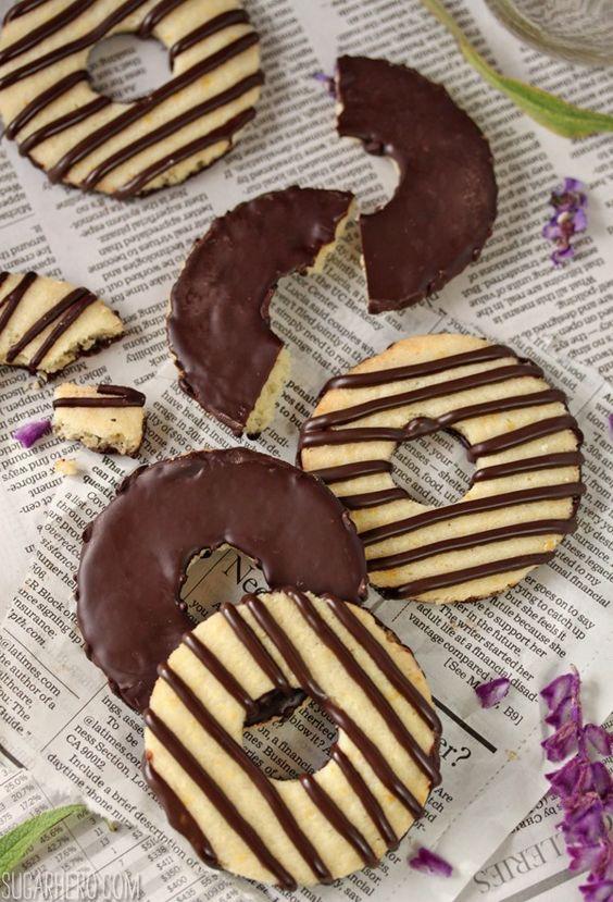 Striped cookies recipe
