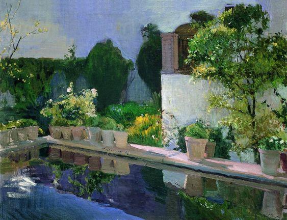En los jardines, en los paisajes, en el mar. En su pintura siempre ha destacado. Pocos pueden llegar al nivel de genialidad de Sorolla cuando hablamos del tratamiento de la luz.: