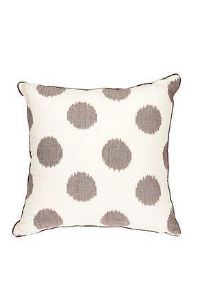 Large Ikat Dots Pillow