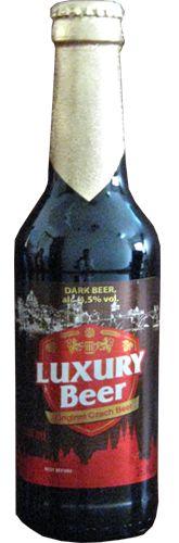 Bia Luxury Nâu Đen 4,5% - Chai 330ml - Bia Nhập Khẩu TPHCM