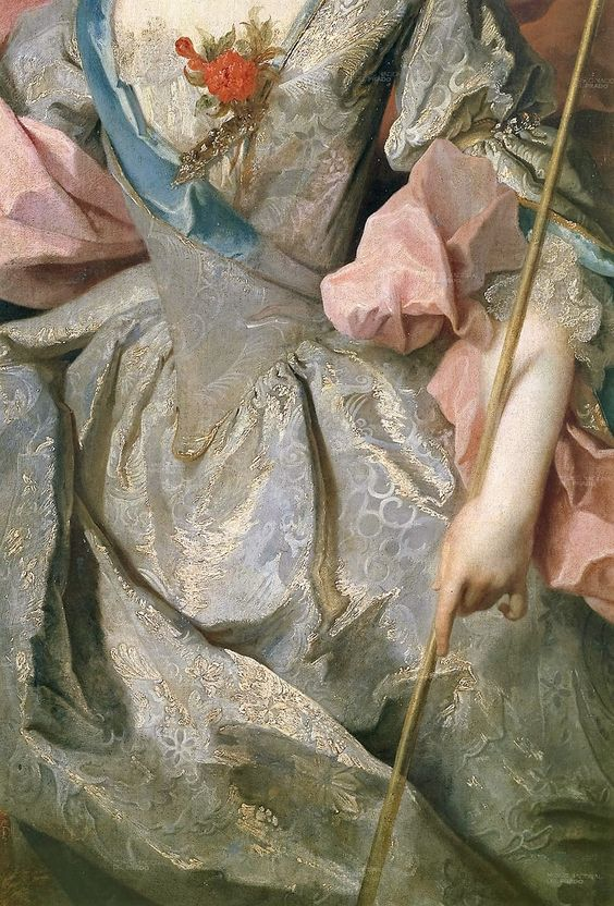Mary Josephine Drummon by Jean Baptiste Oudry, 1716