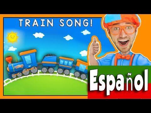Trenes Para Niños Con Blippi Canción Divertida Del Tren Youtube Canciones Divertidas Trenes Para Niños Canciones
