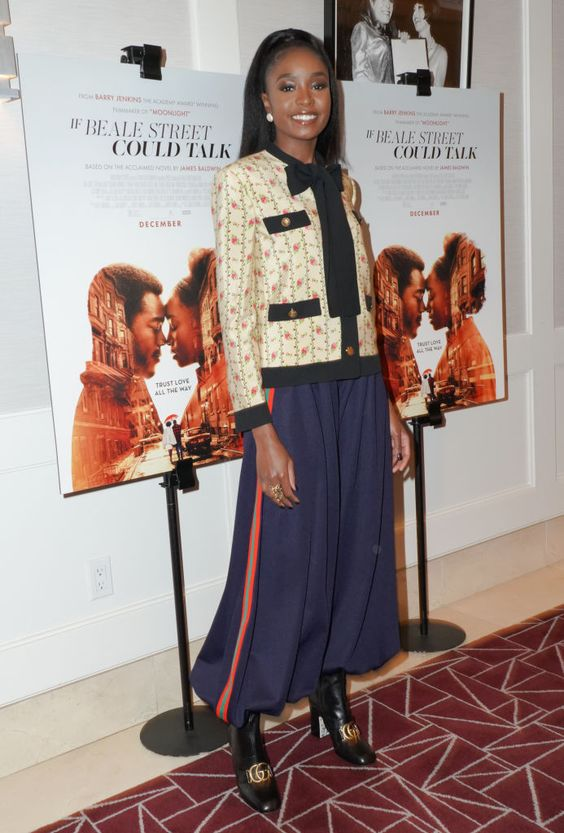 Kiki Layne Attends A Screening Of If Beale Street Could Talk At The Daily Street Style Celebrity Look Celebrity Style