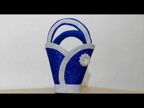 عمل فني بورق الفوم اعمال يدوية Un Ottimo Lavoro Con La Carta Youtube Foam Sheet Crafts Paper Crafts Diy Kids Cardboard Box Crafts