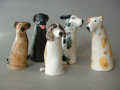 I don't know what board to pin these to ... but they are so whimsical and winsome. Leslie Martin
