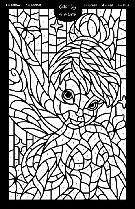 FAIRY COLORING PAGES | Maidyn's Birthday Party | Pinterest ...