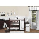 Found it at Wayfair - Sweet Jojo Designs Hotel 9 Piece Crib Bedding Set