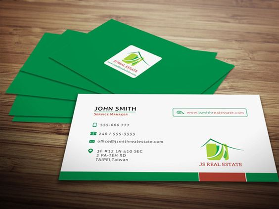 creative business card design ideas for real estate and construction 40 examples businesscard - Business Card Design Ideas