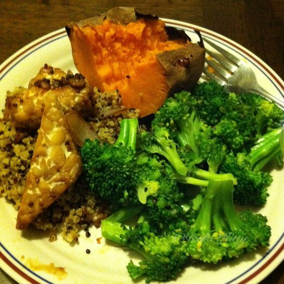 Vegan dinner ideas tempeh