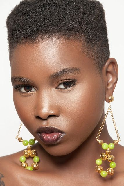 Black Women Natural Fades Hairstyles