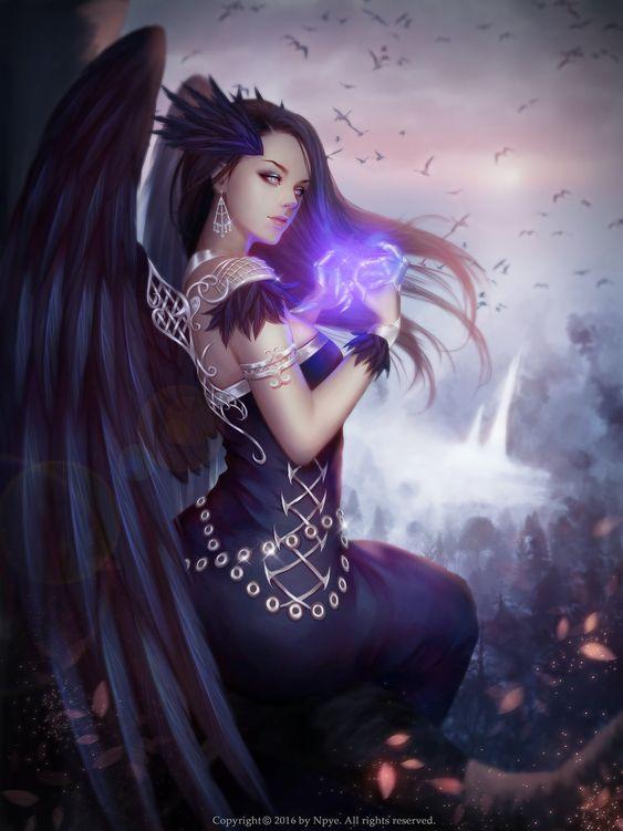 Sexy Sexy Art Crow Queen 2 By Poenatsha Yuen Fantasy
