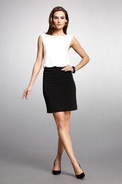 Blouson Shutter Skirt Dress