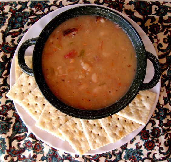 Ham and Bean Soup: